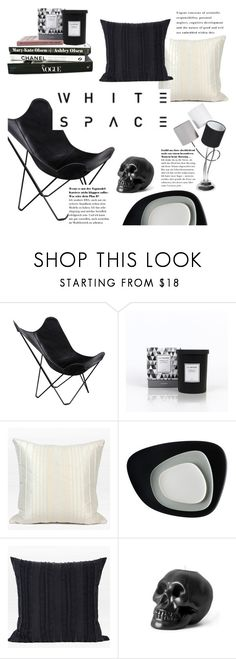 """WHITE SPACE"" by ghomecollection ❤ liked on Polyvore featuring interior, interiors, interior design, home, home decor, interior decorating and Kartell"