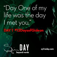 On the first day of Gideon my lover said to me…#12DaysofGideon