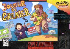 Le Joueur du Grenier fanart by Tohad on deviantART Super Nintendo, Bob Lennon, Social Community, Fan Art, Deviantart, Cool Stuff, Slg, Funny, Artist