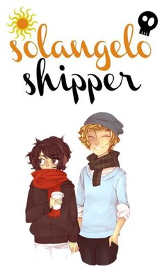 """tmw when you're solangelo trash"" by fabulously-awesome7 ❤ liked on Polyvore featuring art"