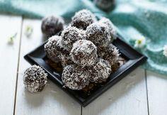 Nut Free Coconut & Chocolate Bliss Balls