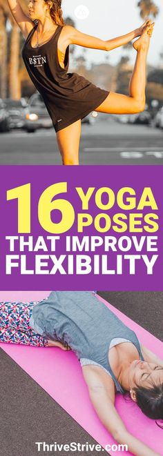 I wanted to improve my flexibility and discovered that these yoga poses are great for flexibility. #Yoga