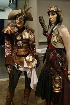 Steampunk - I wanna be in their raiding party!