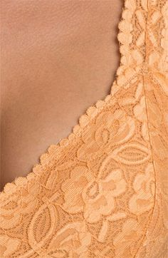43a0bc3b7b Free People Racerback Galloon Lace Bralette available at  Nordstrom Lace  Bralette