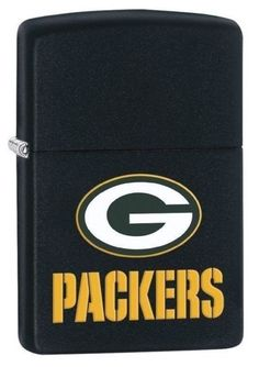 Made In USA - Zippo Lifetime Warranty - Brand New in Zippo Gift Box Show some Green Bay Packers team spirit with this NFL Green Bay Packers Zippo lighter. This windproof lighter features the vibrant colors of the Green Bay Packers and team logo on a black matte finish. This is a perfect gift for someone who loves the Green Bay Packers or just loves Football. This lighter Comes packaged in an environmentally friendly gift box. For optimum performance, fill with Zippo premium lighter fluid.