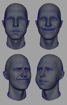 Deformaciones rostro