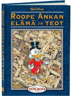 Roope Ankan elämä ja teot 1 (Don Rosa) - Aku Ankan kauppa Don Rosa, Glasgow, Literature, Facts, Baseball Cards, Reading, Literatura, Reading Books