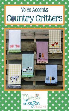 Tea Towels - Marcia Layton Designs, LLC