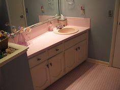 retro-pink-bath-vanity - Retro Renovation