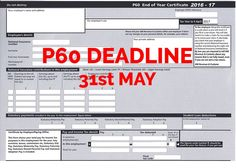 The Filing Deadlines For PD Forms And Associated Returns Are