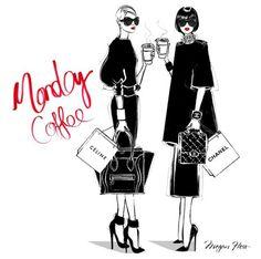 #Monday by Megan Hess Illustration
