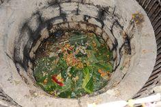 Abhishekam to Lord Shiva in Girija Devi Temple Complex. Naabhi Kunda is located near the main temple of Goddess