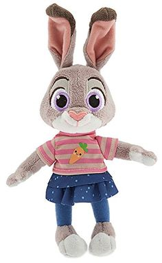 "Disney Zootopia Judy Hopps Exclusive 9"" Bean Bag Plush"