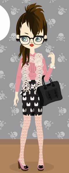 i went on a black purse spree in the poupee market.