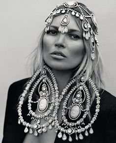 Kate Moss Christian Dior Jewelry