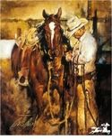 """Chris Owen Handsigned and Numbered Limited Edition :""""Preparing for the Day"""""""