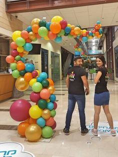 Balloon Columns, Balloon Arch, Balloon Garland, Balloon Centerpieces, Balloon Decorations, School Decorations, Birthday Party Decorations, Freshers Party, First Birthday Balloons