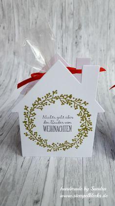 Weihnachtshäuser - Stempeln, Stanzen und Basteln mit Stampin' Up! -
