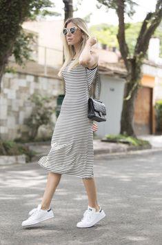 Nati Vozza do Blog de Moda Glam4You dá dicas de looks com tênis para você arrasar no dia a dia com muito estilo.