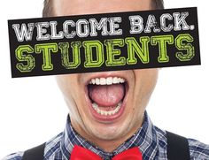 Welcome back students! The pharmacy resumes its normal hours of operation including being on Saturdays from 9am-12pm.