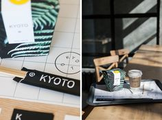 Kyoto is an urban asian food cafe based in Rostov-on-Don, Russia. The café has 3 areas: there are contemplation, communication and food zones. The interior is based on contrast combinations of textures; the color scheme is a stylized dish palette of tradi…