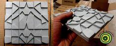 """""""Composiciones rotas de escala variable, formas indeterminadas libres de cronología"""" #Tiles by Monica Moussali #Arte #Cerámica #Diseño"""