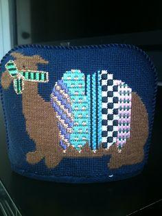 steph's stitching: Nativity Set Day camel in needlepoint nativity