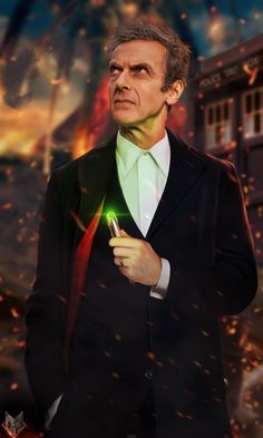 The 12th Doctor. by spidermonkey23 on deviantART < holy...that looks pretty realistic, its amazing.