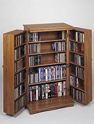 Leslie Dame CD DVD Storage Cabinet