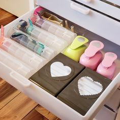 Understanding Drawers for Your Storage Cabinet - Best Craft Organizer Craft Organizer Cabinet, Craft Organization, Craft Storage, Storage Ideas, Storage Cabinet With Drawers, Wall Boxes, Organizing Your Home, Ink Pads, Jewellery Storage