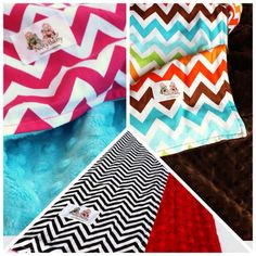 they have a blanket for TEENS in that comfy stuff they use for baby blankets and they are chevron!