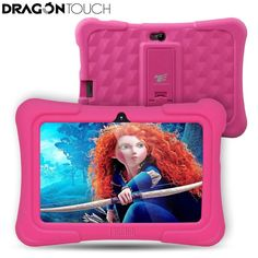 Dragon Touch Y88X Plus 7 inch Kids Tablet for Children Quad Core Android 5.1 1GB / 8GB. Item Type: Tablet PCGoogle Play: YesProcessor Model: A33 ARM Cortex A7 Quad CoreFeature: Dual Cameras,G Sensor,Multi Touch,OTGBrand Name: DragonTouchSupporting Language: Portuguese,Swedish,Greek,English,Japanese,Spanish,Polish,Italian,Chinese,Turkish,Hebrew,Russian,German,French,UkrainianExtend Port: Earphone Jack,USB,TF card,DC Jack,OTGProcessor Manufacture: IntelOperating System: Android 5.1Camera…