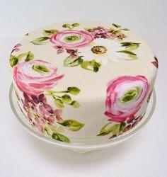 Perfect Peony Cake