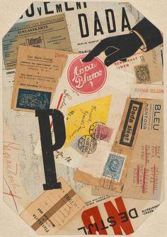 100 Jahre Dadaismus: Sammeln, schnippeln, kleben - [ART]