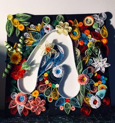 #quillingart Quilling Art, Project Yourself, Love Art, Craft Projects, Artwork, Crafts, Handmade, Color, Work Of Art