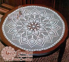VK is the largest European social network with more than 100 million active users. Table Covers, Bed Covers, Victorian Collar, Doily Patterns, Crochet Doilies, Ottoman, Decorative Plates, Outdoor Blanket, Photo Wall