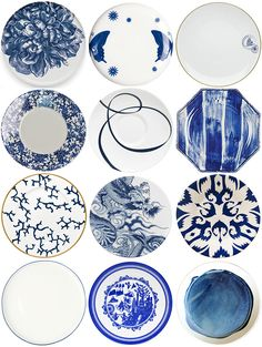Snippet & Ink The Registry :: Modern Blue and White China Patterns