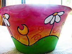 pots Painted Clay Pots, Flower Pots, Flowers, Terracotta Pots, Terra Cotta, Diy Painting, Garden Pots, Decoration, Decor Crafts
