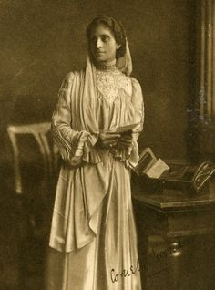 Cornelia Sorabji (1866 - 1954)- first woman to practice law in India and Britain. Cornelia graduated from Oxford law in 1892, and defended women's rights in India for many years.