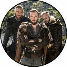 Ragnar, Athelstan and Floki