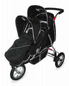 Tandem Double Jogging Stroller Jogging Stroller Baby