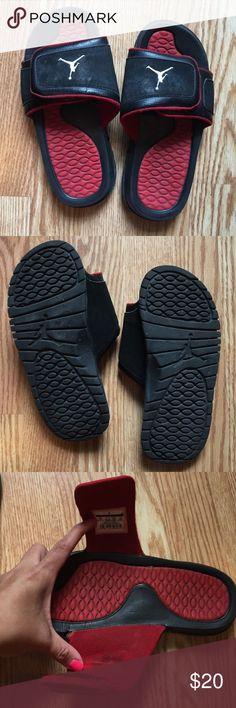 Jordan sandals size 3Y Great condition Jordan sandals size 3Y Jordan Shoes Sandals & Flip Flops