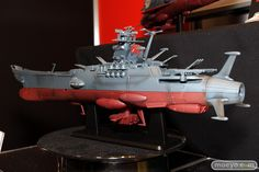 Space Models | Space Battleship Yamato Display Model