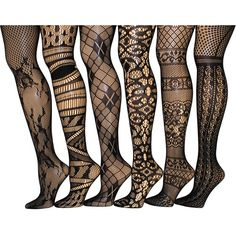 73c12de03 Pair of sexy fishnet stockings Six pairs of fishnet tights