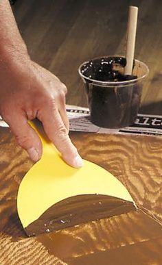 Filling Wood Grain for Perfect Finishing Want to achieve a finish that not only looks like glass, but feels that way too? Try filling the grain first.