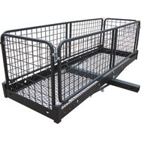 Ultra-Tow Steel Cargo Hauler with Removable Basket — 500-Lb. Capacity, 60in.L x 20in.W x 20in.H