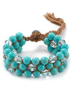Beaded Bracelet-pretty for my girly's;-)