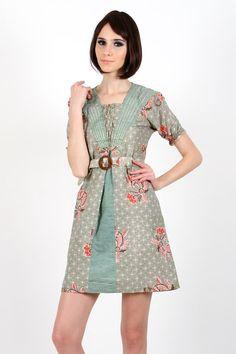 Indri Batik Dress www.pinkemma.com