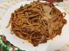 Paste Bolognese Bolognese, Past, Spaghetti, Ethnic Recipes, Food, Past Tense, Essen, Meals, Yemek