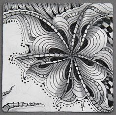 Zentangle: Ixorus #6